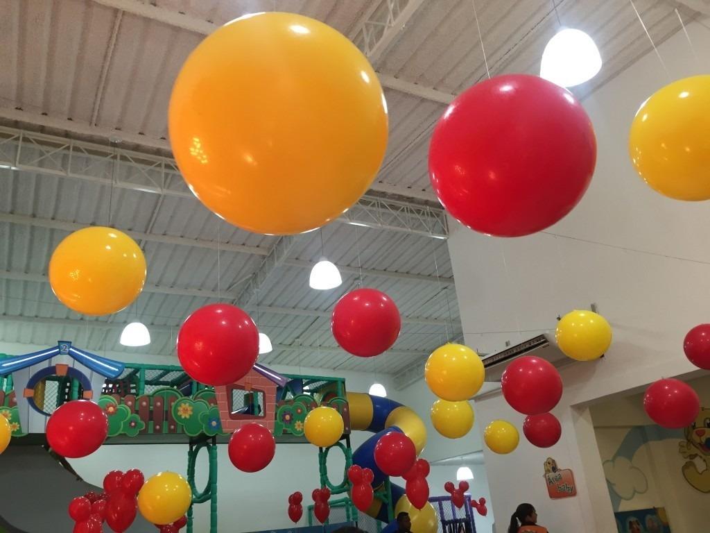 55 Unidades Balão Do Kiko Vinil 40cm Grande Bola Parque - R  212 2cff276fa0bfb