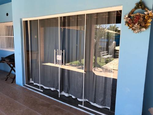 554- casa a venda 2 quartos 2 suítes piscina salão de jogos