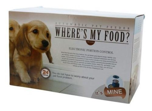 5.5l alimentador de mascotas automático comida plato recipie