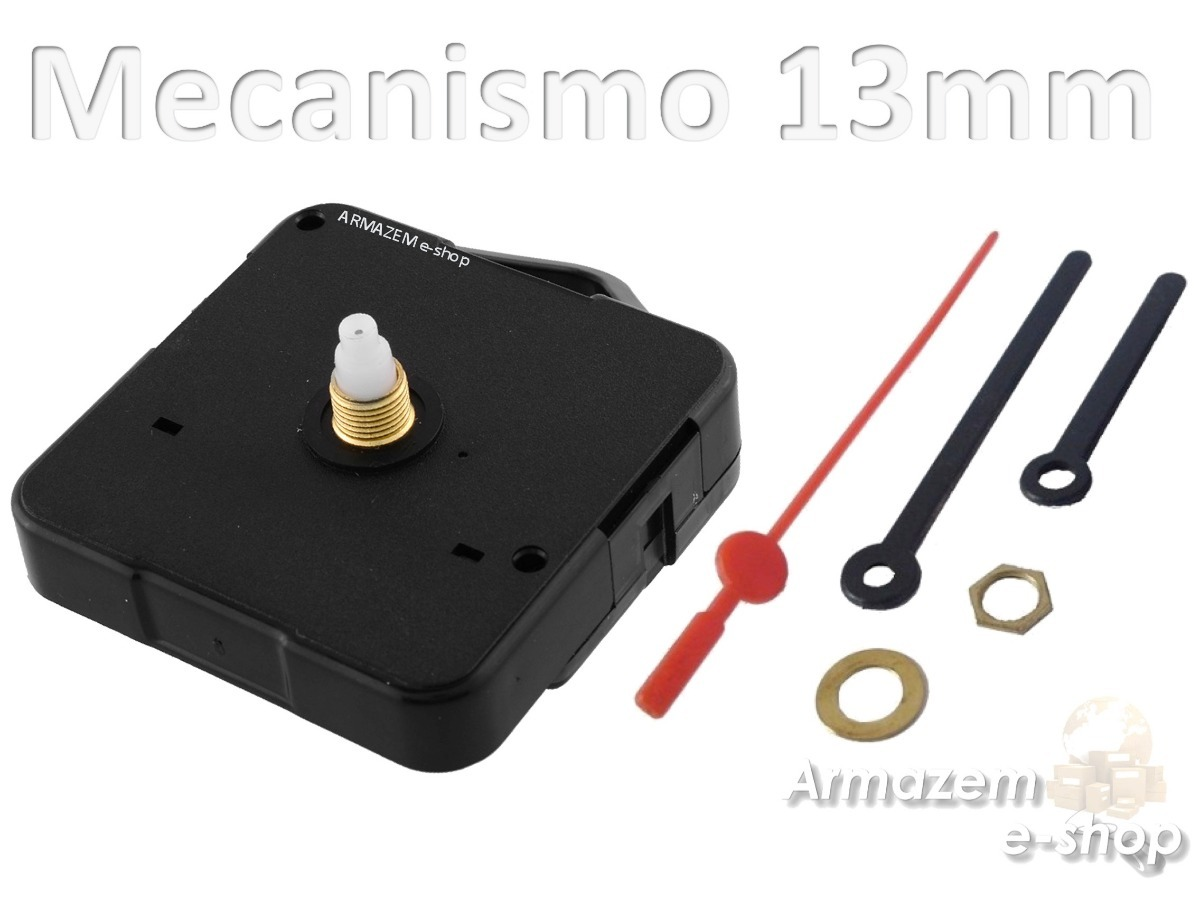 147acd9629e 56 maquinas d relógio quartz eixo 13 continuo armazem e-shop. Carregando  zoom.