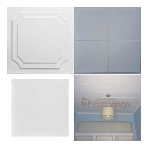 56 placas decorativa parthenon cielorrazo+1 adhesivo 5kg