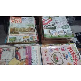 56 Revistas De Ponto Cruz, (manequim, Faça Fácil E Outras)