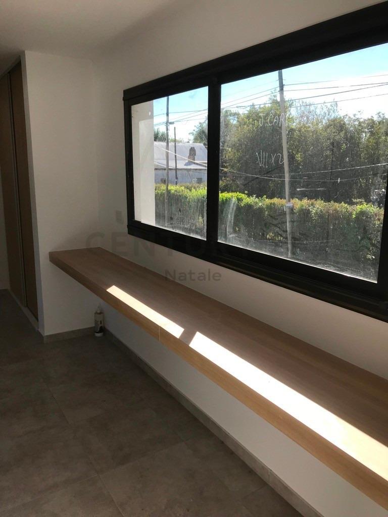57 entre 6 y 7 villa elisa: a estrenar, 85 m2 dos dormitorios, patio y verde