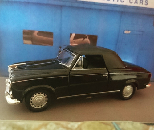 '57 peugeot 403 coupe soft-top welly 1/32 nuevo