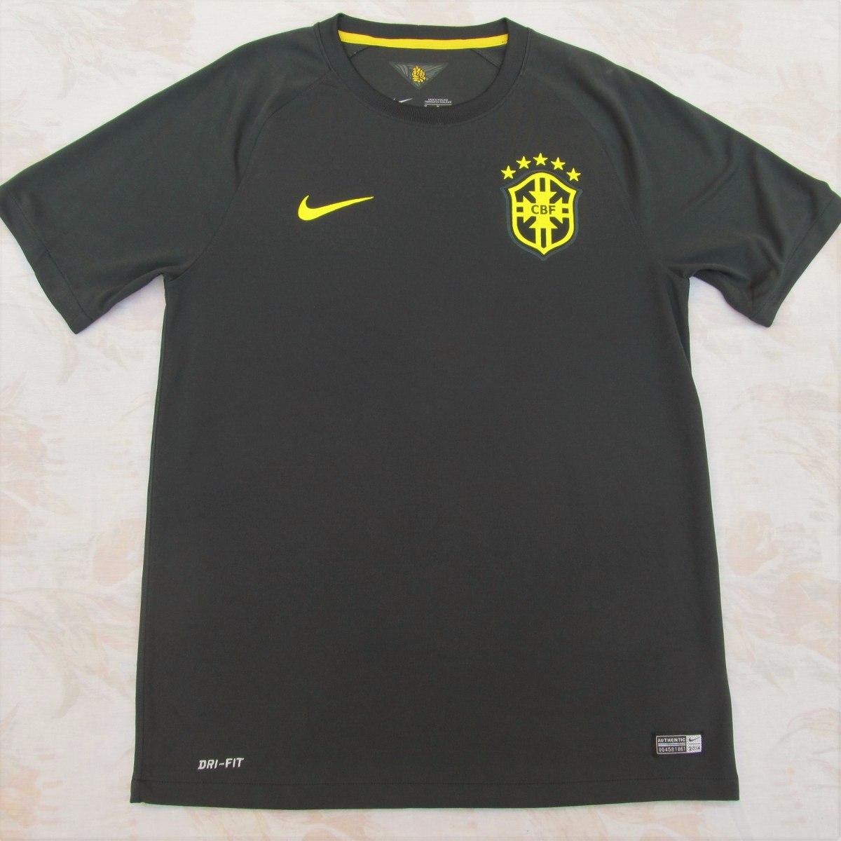 575284-337 camisa nike brasil cbf third 2014 m verde fn1608. Carregando  zoom. b8ed6b0e42867