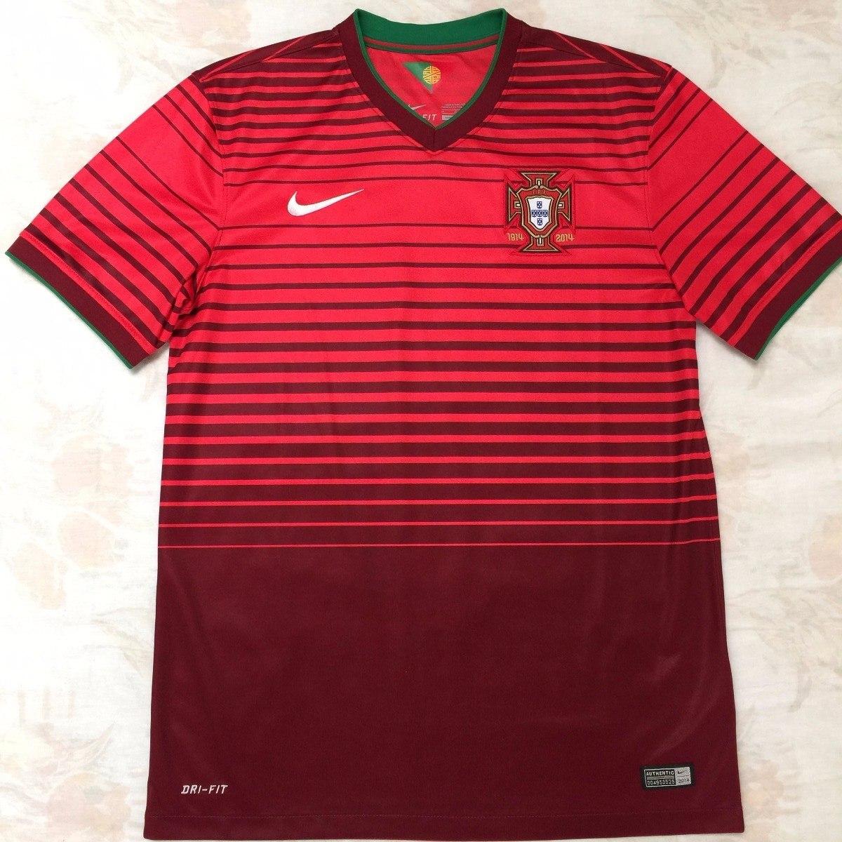 577986-677 Camisa Nike Portugal Home 2014 M Fn1608 - R  1.999 64ae1c901e80e