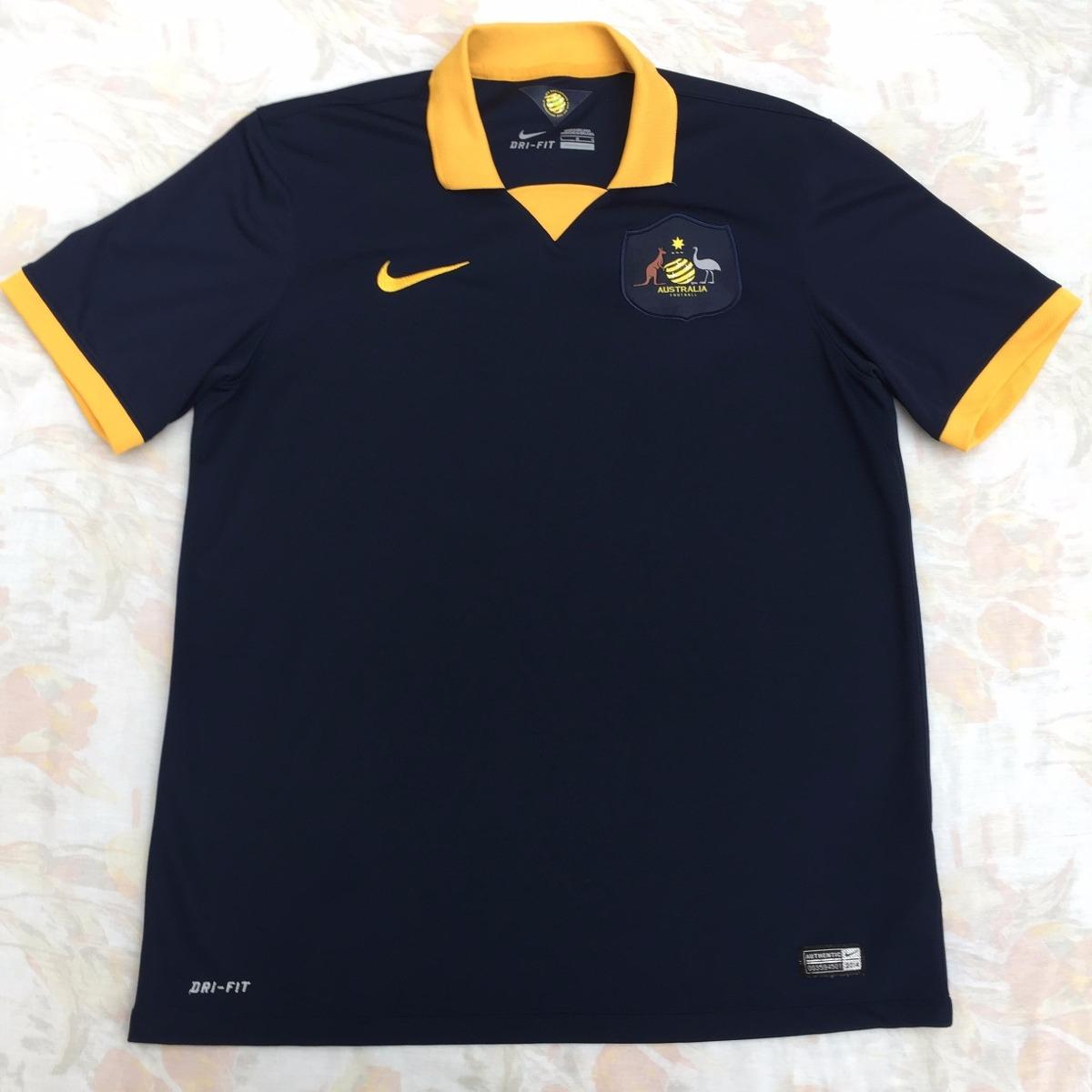3af1c03ba0605 ... camisa nike austrália away 2014 g fn1608. Carregando zoom.