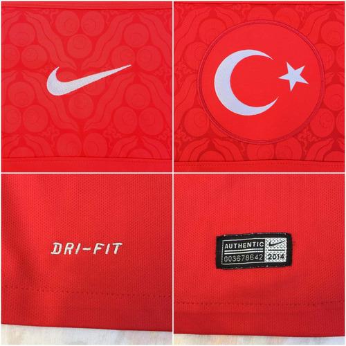 578319-657 Camisa Nike Turquia Home 2014 P Fn1608 - R  1.199 37acbf3a5cb4f