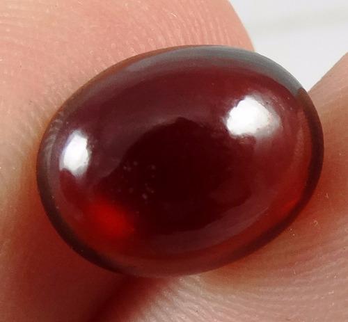 5,84 cts!!! belíssima granada vermelha extra natural 0900