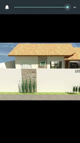 587-belíssima casa nova á venda com 2 dormitórios e 1 suite