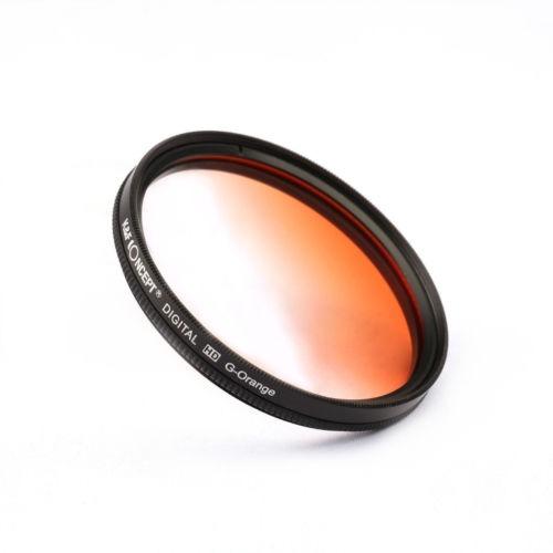 Concepto 67mm UV CPL FLD K/&F G-Gris G-Naranja G-Kit Filtro Azul Para Canon Nikon