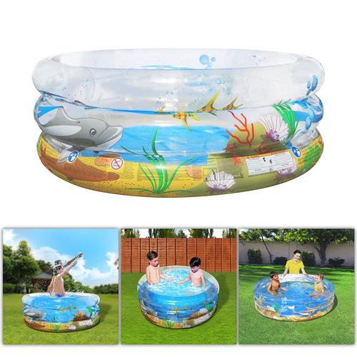 59 pulgadas ronda piscina inflable al aire libre patio agua