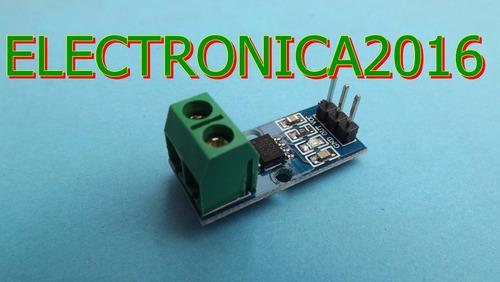 5a rango sensor corriente modulo acs712  arduino