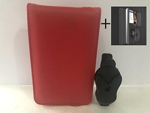 (5colors) ipod classic case, funda de cuero de la pu para...