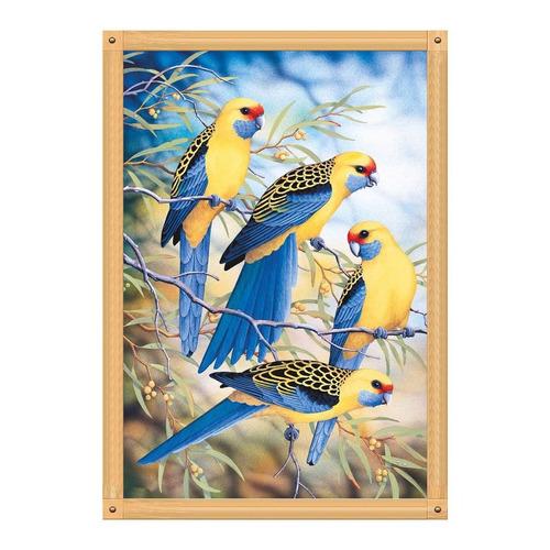 5d diamante pintura diy bordado ponto cruz ofício papagaio