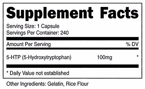 5htp 100mg 240 cápsulas vitacost pronta entrega