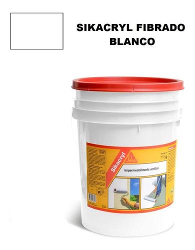 5k membrana liquida impermeabilizante fibrado sika sikacryl