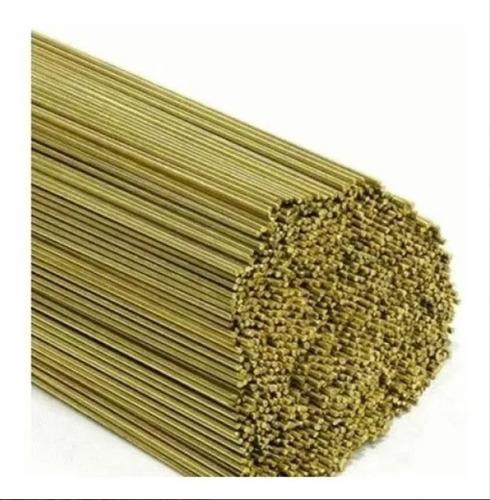 5kg vareta solda latão 2,4mm média amarela japonesa