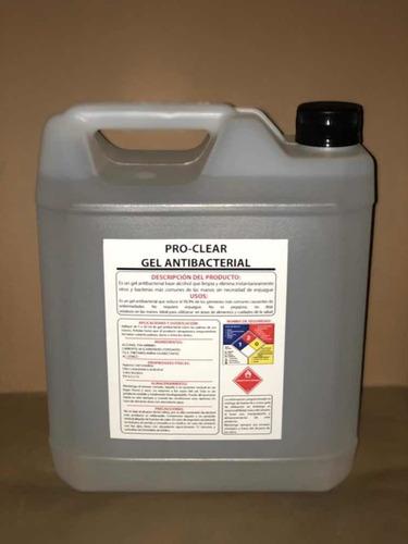 5litros alcohol gel 100% certificado y sellado