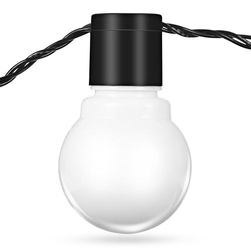 5m 20 leds mundo de hadas cadena de luces de nosotros-blanco