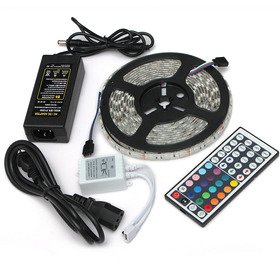 5m 300 Led Tira De Luz Smd3528 / 5050 Rgb / Blanco Flexible