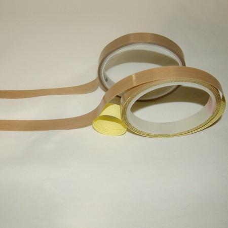5m cinta de lana de vidrio impreg. en ptfe c/adhesivo  20mm