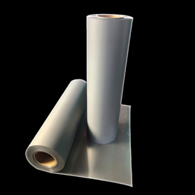 5m Vinil Reflejante Textil Termoadherible Gris 50cm Ancho