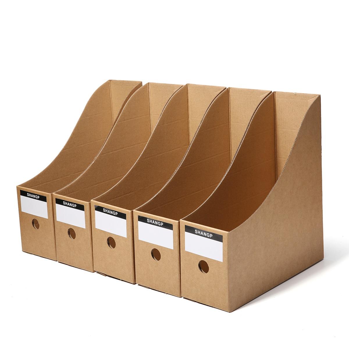 5pcs Almacenamiento De Archivos Caja Carpeta Marco De Libro ...
