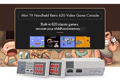 5pcs construido 620 videojuegos retro clásico mini consolas