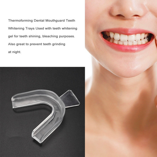 5pcs termoformado dental protector bucal dientes blanqueo ba