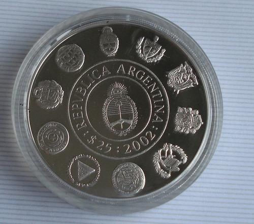 5ta serie iberoamericana de plata - fragata sarmiento - 2002