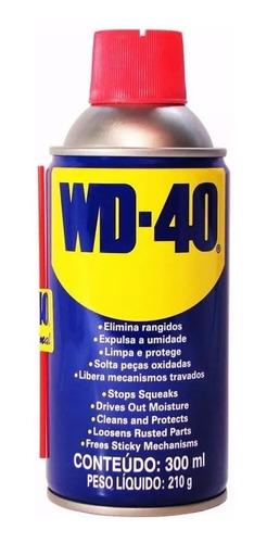 5un óleo lubrificante spray antiferrugem desengr wd40 300ml