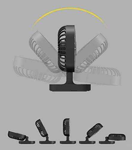5v usb ventilador de coche electrico 4 pulgadas ajuste libre