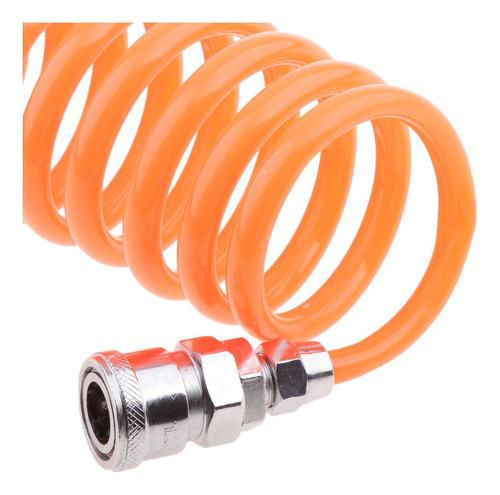 5x 8mm tubo flexible de resorte de manguera de aire de