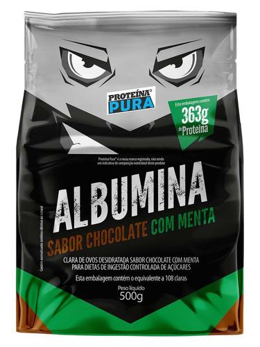 5x albumina naturovos 500g cada com sabor clara do ovo pó