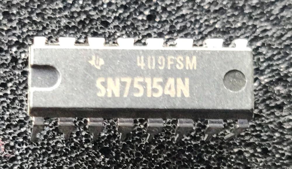 SN75154 = SN75154N TEXAS INSTRUMENTS Circuito integrado