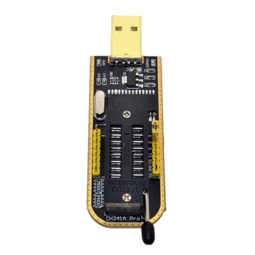 5x gravador bios eprom flash usb ch341a pro+ 24xx e 25xx