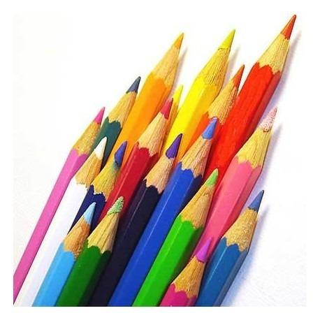 5x lápis de cor aquarelável caran d'ache supracolor