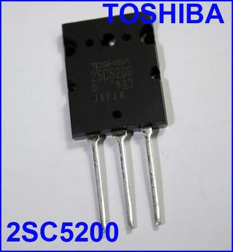 5x transistor 2sc5200 * 2sc 5200 mica gratis !! só o 2sc5200