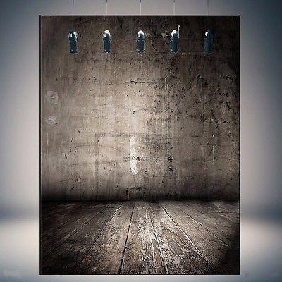 5x7ft vinilo pared cutre piso de madera foto fondos fotograf
