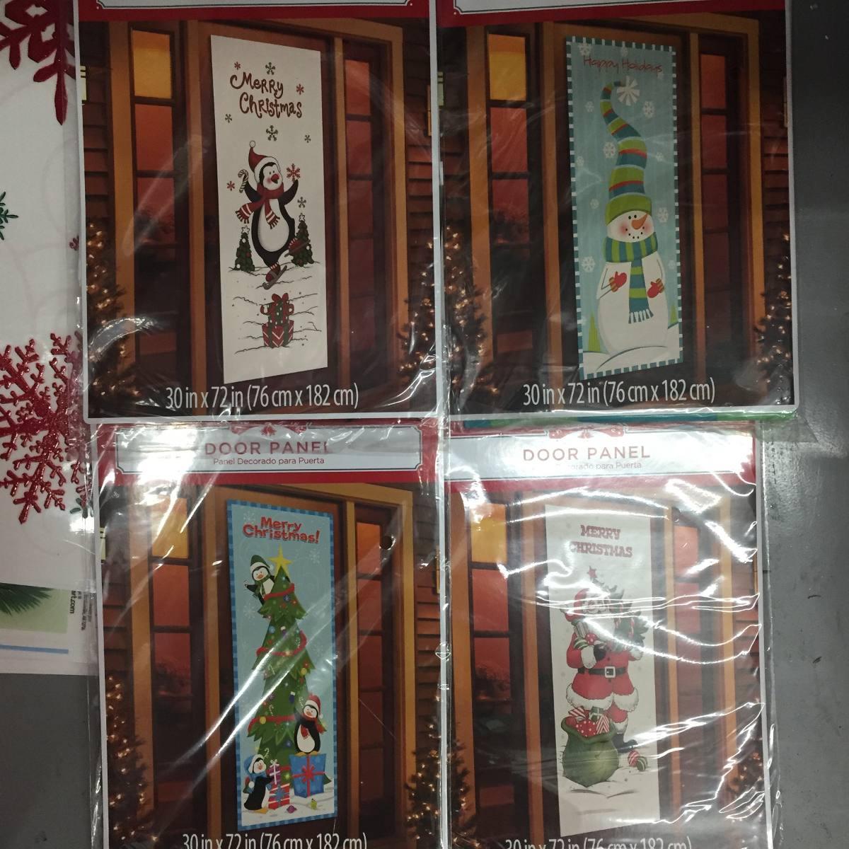 6 adornos de navidad para puertas en mercado libre - Adornos para puertas ...