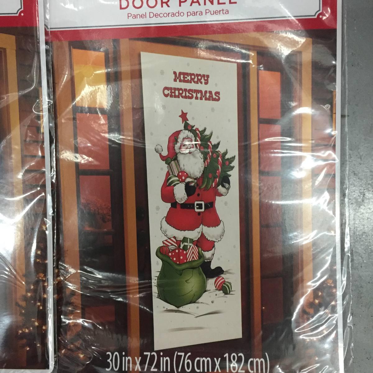 6 adornos de navidad para puertas en mercado libre for Adorno navidad puerta entrada
