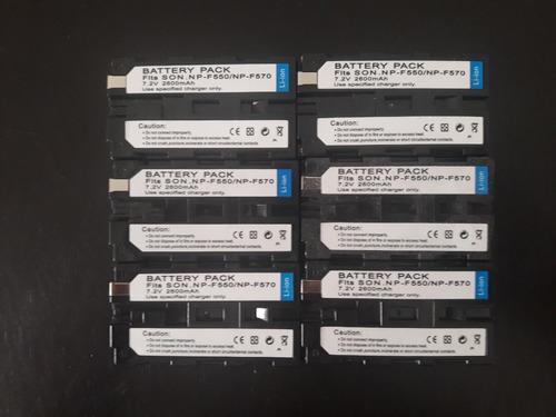 6 baterias np-f570