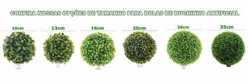 6 bolas buchinho grama artificial 4 x 13cm 2 x 26cm promoção