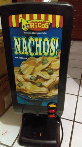6 bolsas de salsa de queso cheddar para nachos marca ricos