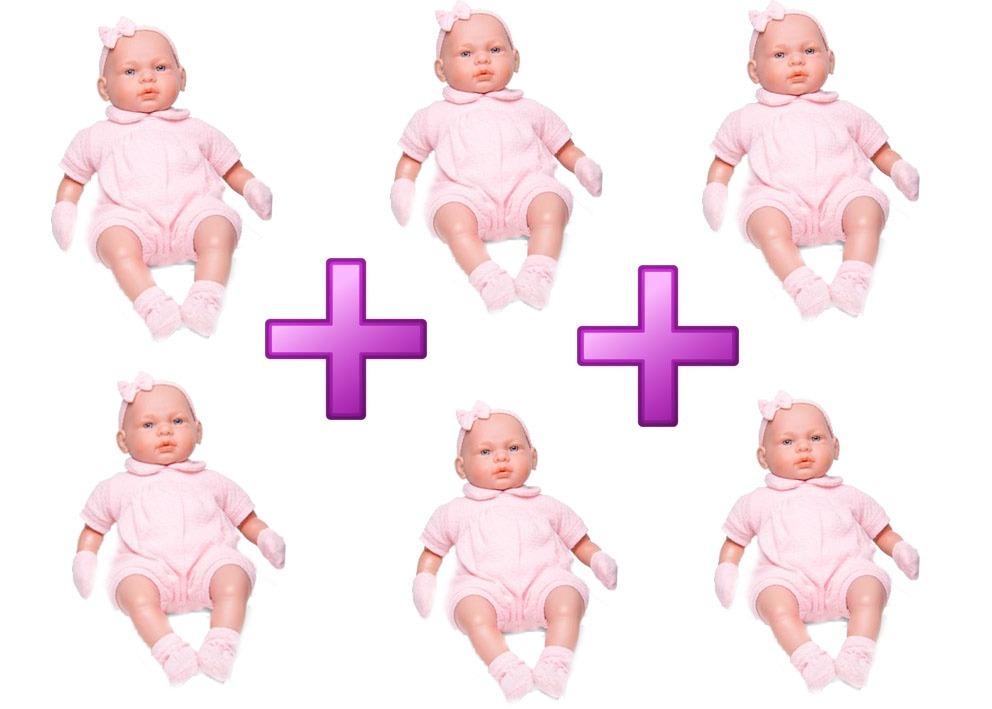 16c58f4c0 6 bonecas bebê real c  certidão 5075 - roma. Carregando zoom.