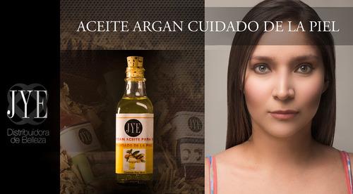 6 botellas aceite argan puro marruecos jye