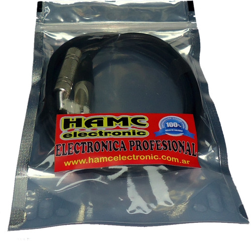 6 cables plug plug 9mts audio professional hamcelectronic