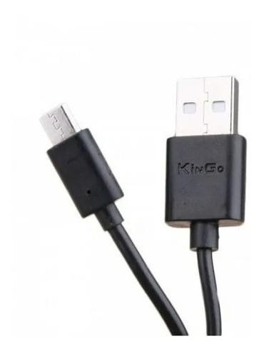 6 cabos dados carga kingo original micro usb v8 1m 2.1a nfe
