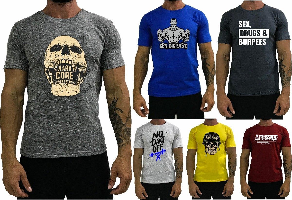 60d6e57215b91 Camiseta masculina shirt treino academia camisa blusa carregando zoom jpg  1200x825 Blusas masculinas academia
